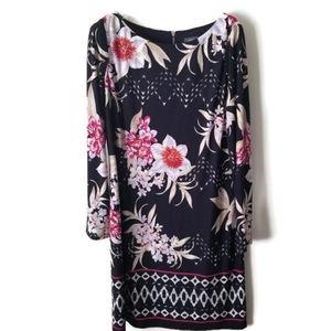 Vince Camuto dress floral sz 10